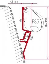 Fiamma F35 Pro adapter - VW T3