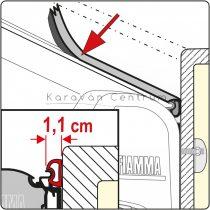 Fiamma Rain Guard S tömítőgumi, 11 mm