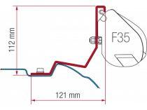 Fiamma F35 Pro adapter - Mercedes Viano, Vito 2004-