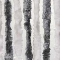 Arisol zsenilia függöny szürke-fehér, 100x200 cm