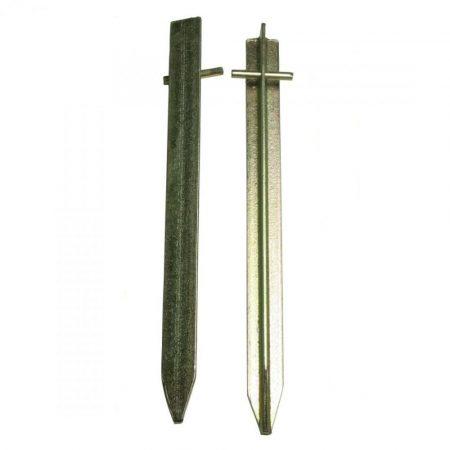 Csapos T-cövek 30 cm, 2 db