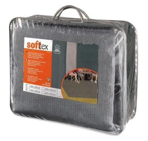 Arisol Softtex elősátorszőnyeg szürke, 600 x 250 cm