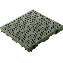 Brunner  Deck-Fit padló zöld, 38,5x38,5 cm