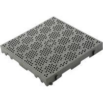 Brunner  Deck-Fit padló szürke, 38,5x38,5 cm