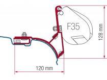 Fiamma F35 Pro adapter - VW T5/T6 Transporter, Multivan