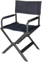 Westfield Superior összecsukható rendezői szék, sötétszürke