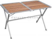 Brunner Mercury Tropic Level kempingasztal feltekerhető asztallappal, 115 x 80 cm