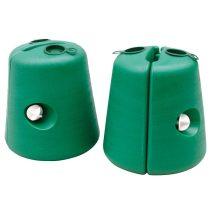 Zebo pavilonláb nehezék zöld, 2 db-os szett