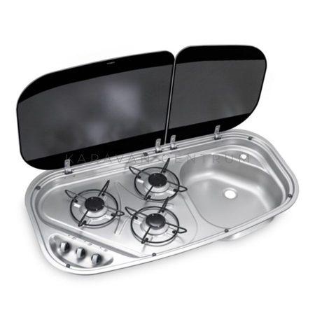 Dometic HSG 3436 főzőlap-mosogató