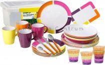 Brunner Spectrum Flame 36+1 db-os ét- és evőeszközkészlet