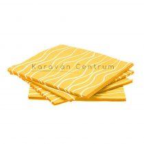 Gimex papírszalvéta, sárga, 20 db