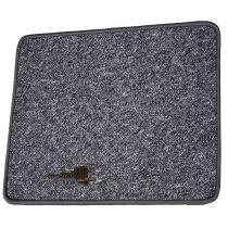 Fűthető szőnyeg  70x60 cm 230 V, antracit
