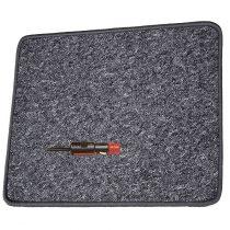 Fűthető szőnyeg  70x60 cm 12 V, antracit