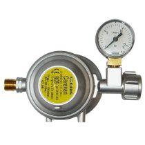 GOK EN61-DS nyomáscsökkentő, 30 mbar, 1,5 kg/h, mérőórával