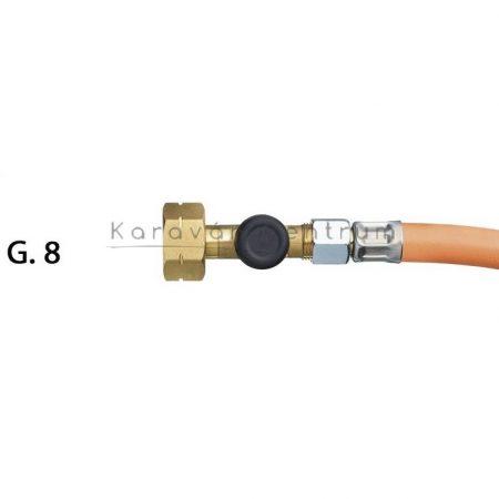 Nagynyomású gáztömlő SBS G. 8, 75 cm