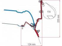 Fiamma F35 Pro adapter - Mercedes V Marco Polo 2014-
