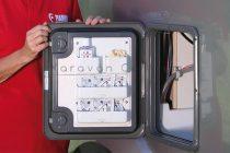 Fiamma Pocket Kassett szervizajtóra szerelhető tároló, 28 x 18 x 3,6 cm