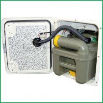 SOG 1 wc szellőztető Thetford C200 kazettához, világosszürke