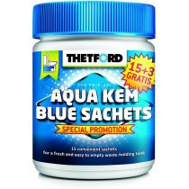 Thetford Aqua Kem Blue Sachets lebontószer, 15+3 db