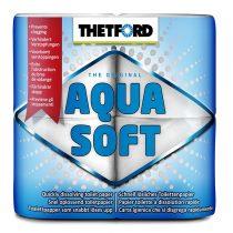 Aqua Soft lebomló WC papír, 4 tekercs
