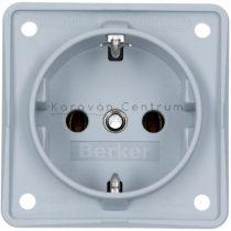 Berker Integro aljzat 230 V, szürke