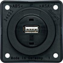 Berker Integro USB töltő csatlakozó 12 V, antracit
