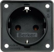 Berker Integro dugalj 230 V, antracit