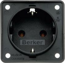 Berker Integro aljzat 230 V, antracit