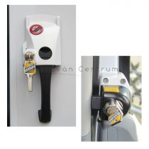HEOSafe biztonsági zárszett - Ford Transit/Hartal Arch, zárható, fehér