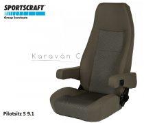 Sportscraft S  9.1 pilótaülés, Phoenix braun