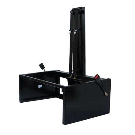 Acél ülésváz, 990 mm