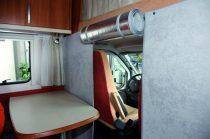 Hindermann thermofüggöny alkóvos lakóautókba, szürke