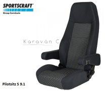 Sportscraft S  9.1 pilótaülés, Ara schwarz