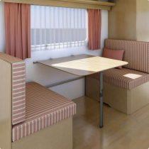 Kesseböhmer középen felhajtható asztalláb 675 mm, barna