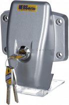 HeoSafe Van Security biztonsági zár furgonokhoz, zárható, szürke/ezüst