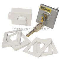 HEOSafe univerzális biztonsági zár, szürke/ezüst, 3 db