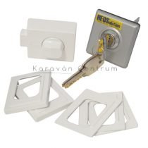 HEOSafe univerzális biztonsági zár, szürke/ezüst, 5 db