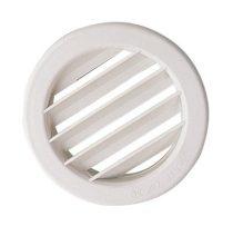 Műanyag szellőzőrács ∅ 80 mm, fehér