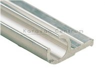Alumínium profilléc 28 x 13 mm, 500 cm