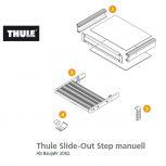 Thule Slide-Out Step Manual alkatrészek