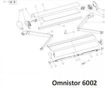 Thule/Omnistor 6002 alkatrészek