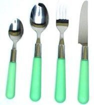 Gimex Tosca 24 db-os evőeszközkészlet, zöld