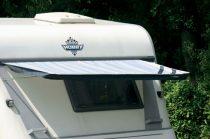 Eurotrail lakókocsi ablakárnyékoló rudazattal, 190x90 cm
