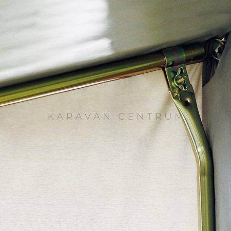 Támasztóláb csőbilinccsel íves, 170-270 cm