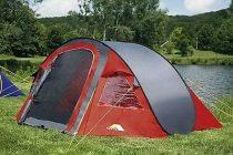 dwt Flexi 2 személyes Pop-Up sátor, piros