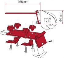 Fiamma Kit Standard tetőcsomagtartó adapter