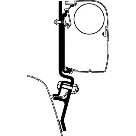 Thule/Omnistor adapter - VW T2, T3