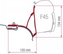 Fiamma F45 adapter - VW T5/T6