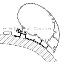 Thule/Omnistor adapter - Carthago Chic, 500 cm
