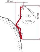 Fiamma F35 Pro adapter - VW T4 Lift Roof